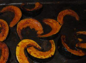 zucca al forno cotta