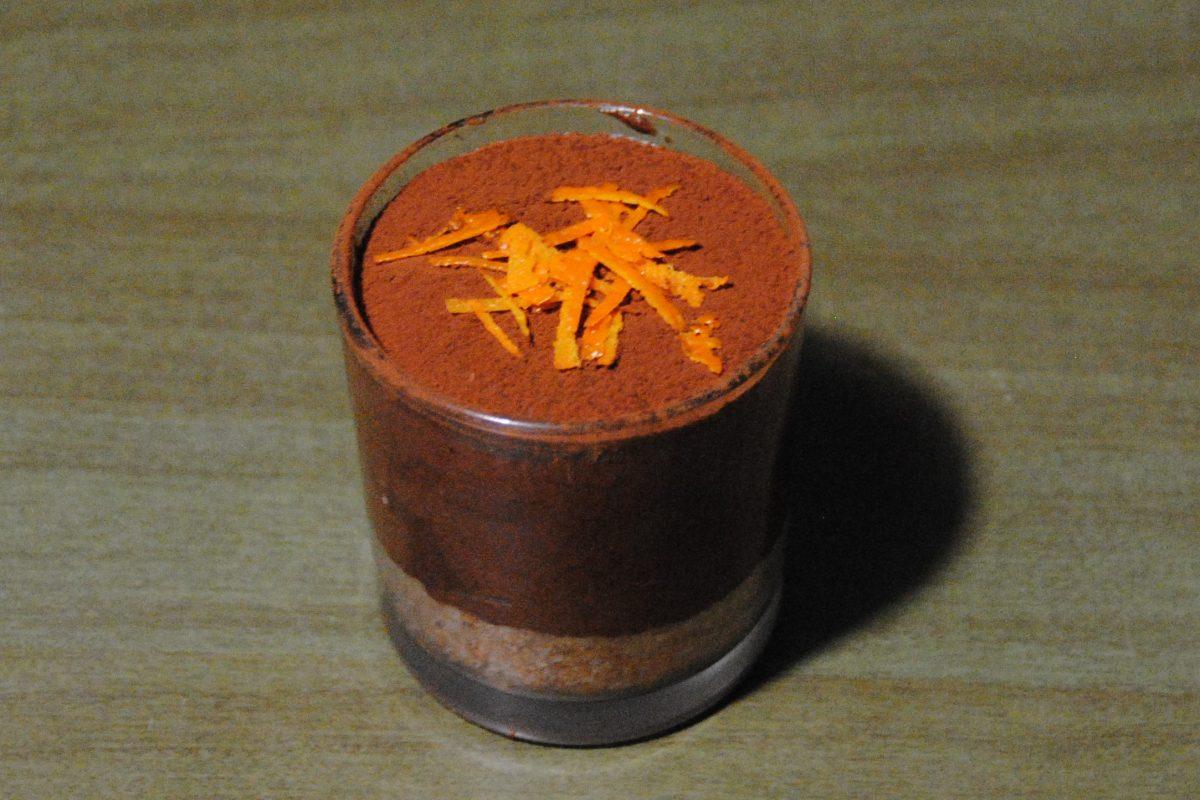 mousse cioccolato e arancia