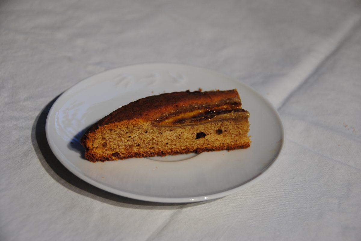fetta di banana bread